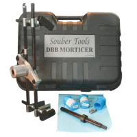 SOUBER TOOLS JIG1 New Style Morticer c/w 3 Cutters JIG1