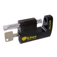 LINCE R90 Plus Monoblock Sliding Shackle Padlock R-90 Plus