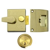 UNION 1026, 1027 & 1028 Non-Deadlocking Nightlatch 1027 - 40mm EB Case - PL Cyl Visi