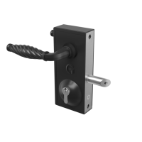 GATEMASTER Superlock Latch Deadlock Traditional Handle (10mm - 30mm)