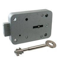 STUV Double Bitted Safe Lock 60mm Key