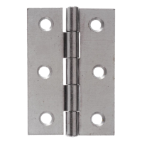 CROMPTON 1838 Light Pattern Steel Hinge 75mm