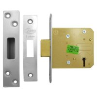ASEC 5 Lever Deadlock 76mm SS KD (Boxed)