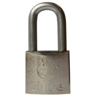 LINCE Nautic Brass Body Corrosion Resistant Long Shackle Padlock 35mm