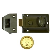 ERA 133 Non-Deadlocking Nightlatch 60mm GRN Case - PB Cyl Boxed
