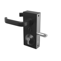 GATEMASTER Superlock Latch Deadlock Straight Lever Handle (40mm - 60mm)