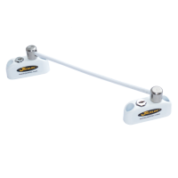 JACKLOC Lockable Double Bullet Window Restrictor White