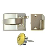 Ingersoll RA71 & SC71 Nightlatch 60mm PB Boxed