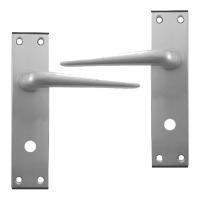 DORTREND 4212 Shirley Plate Mounted Lever Lock Furniture SAA Bathroom LH