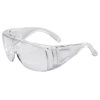HILKA General Purpose Cover Safety Glasses Polycarbonate Anti-Static Lens