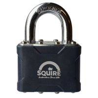 SQUIRE Stronglock 30 Series Laminated Open Shackle Padlock 38mm KD Visi