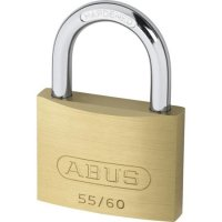 ABUS 55 Series Brass Open Shackle Padlock 58mm KA (5601) 55/60 Boxed