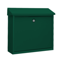 DAD Decayeux D150 Series Post Box Green