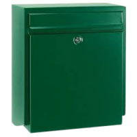 DAD Decayeux D180 Series Post Box Green