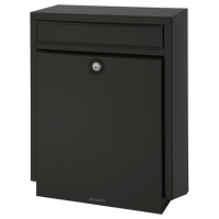 BRABANTIA B100 Post Box Black (discontinued by Mfr.)