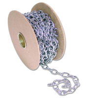 ENGLISH CHAIN 331 Brass Oval Chain 12mm CP