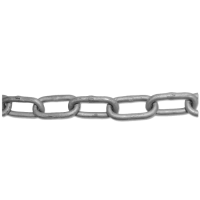 ENGLISH CHAIN Hot Galvanised Welded Steel Chain 4mm GALV 30m