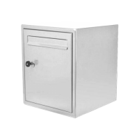 DAD Decayeux DAD009 Secured By Design Post Box White
