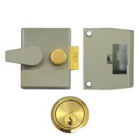 UNION 1047 & 1048 Deadlocking Nightlatch 1047 - 40mm CG Case - PL Cyl Visi