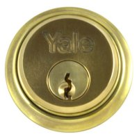 YALE 1122 Screw-In Cylinder PB KD Single Boxed