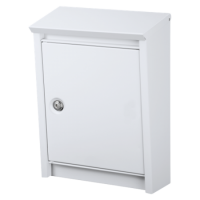 DAD Decayeux D110 Series Post Box White
