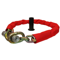 BULLDOG MC100S Chain Lock Ground Anchor 1.83m (6ft) Chain Length with Ground Anchor
