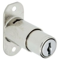 "RONIS 18810 Flange Fix Furniture Push Lock 23.5mm CP KA under ""SM"" MK Series"