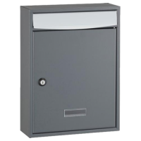 DAD Decayeux Bologne Post Box Grey