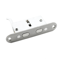 HOOPLY Auxiliary Lock For Container Doors Satin Stainless Steel