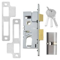 UNION 22214 Oval Sashlock 50mm SC KD Bagged