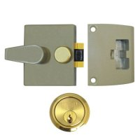 UNION 1037 & 1038 Auto Deadlocking Nightlatch 1037 - 40mm CG Case - PL Cyl Visi