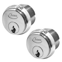 ASEC 5-Pin Screw-In Cylinder SC KA Pair (Boxed)
