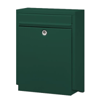DAD Decayeux D100 Series Post Box Green