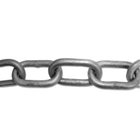 ENGLISH CHAIN Hot Galvanised Welded Steel Chain 6.5mm GALV 15m