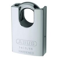 ABUS 34 Series Steel Rekeyable Closed Shackle Padlock 55mm 34CS/55 Visi