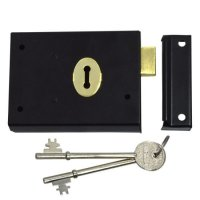 ASEC 1 Lever Double Handed Rim Deadlock - 100mm Black