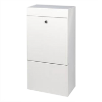 DAD Decayeux Anti Arson Commercial Post Box White