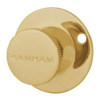 Banham R102 Security Bolt Turn Knob 40mm PB