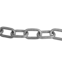 ENGLISH CHAIN Hot Galvanised Welded Steel Chain 6.5mm GALV 10m