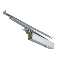 BRITON 2400 Size 2-4 Concealed Cam Action Door Closer 2-4 SSS