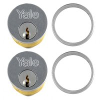 YALE 1133 Screw-In Cylinder SC KD Boxed - KA Pair