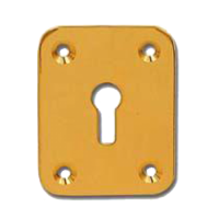 DORTREND 2151 Front Fix Escutcheon PB