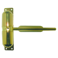 ASTRA DOOR Gibcloser Spring Action Door Closer PB (Visi)