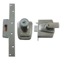 Ingersoll London Line SC100 Auto Deadlocking Nightlatch 89mm CP Boxed