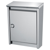 DAD Decayeux D110 Series Post Box Stainless Steel