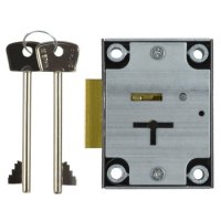 L&F 2802 Safe Lock ZP 7 Lever Slam Lock