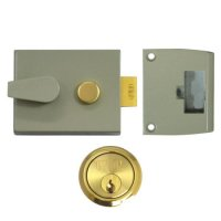 UNION 1047 & 1048 Deadlocking Nightlatch 1048 - 60mm CG Case - PL Cyl Visi