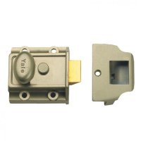YALE 77 & 706 Non-Deadlocking Traditional Nightlatch 40mm ENB No Cylinder Boxed