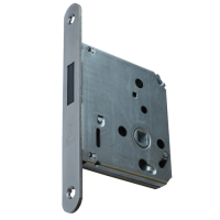 BONAITI SERRATURE DIN Standard Magnetic Latch Polished Stainless Steel