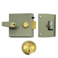 UNION 1097 & 1098 Auto Deadlocking Nightlatch 1098 - 60mm CG Case - PL Cyl Boxed